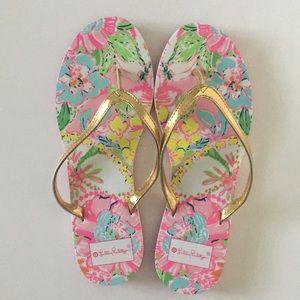 Lily for Target flip flops